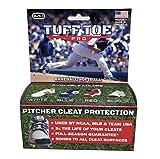 Tuff Toe Pro (BLACK) Baseball Fastpitch Softball Cleat Guard | Pitcher Shoe Drag Protector