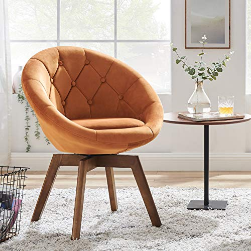Volans Mid Century Modern Swivel Accent Chair