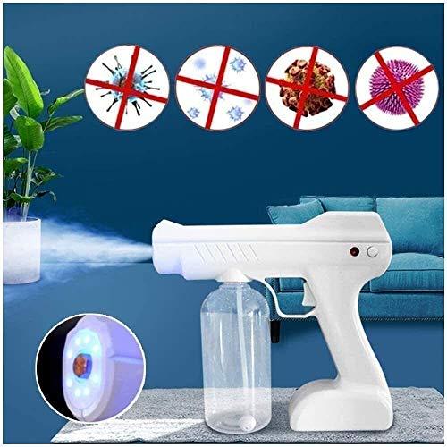 Qiutianchen ULV-Spritzpistole Desinfektionsmaschine, tragbarer Desinfektionsdampfzerstäuber, hellblauer Sprühdesinfektionsgenerator