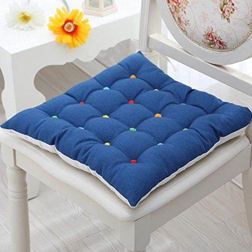 XMZDDZ Ademende tatami-matten, stoeldemping, voor op de vloer, op kantoor, auto, stoel, restaurant, stoel, tuin, indoor en outdoor, diepe zitkussenset 45x45cm(18x18inch) A