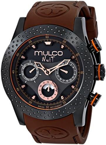 MULCO Unisex MW5 1962 035 Analog Display Swiss Quartz Brown Watch product image