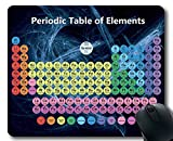 Tappetini per Il Mouse, tavola Periodica Colorata del Tappetino per Mouse degli Elementi, ...