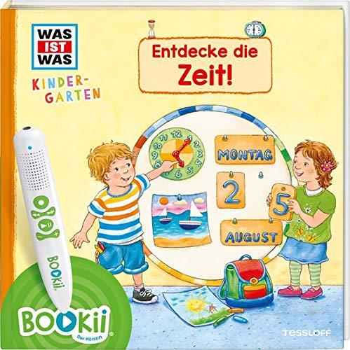 BOOKii® WAS IST WAS Kindergarten Entdecke die Zeit! (BOOKii / Antippen, Spielen, Lernen)