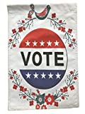 Vote Garden Flag | Prime 12 x 18 Vote 2020 Yard Sign | Vote Accessories Tell People: Your Voice Matters | Pretty, Unique Vote Merchandise Garden Flags | Great Vote Gifts