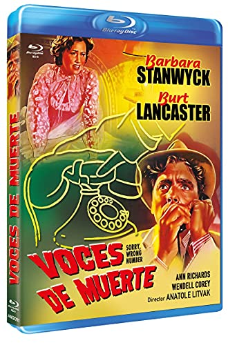 Voces de Muerte (Bd-R) (Blu-ray) (Sorry, Wrong Number) [Blu-ray]