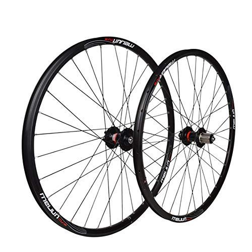 XIAOFEI Mountainbike 26 Zoll Räder, Scheibenbremse Mountainbike Räder MTB Fahrradräder vorne 2 hinten 4...