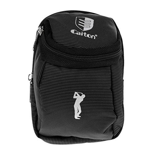 Toygogo Golf Ball Holder Bag & Zipper Closure Wird Zur Aufbewahrung Von Golfbällen, Tees, Divot Tools Und Ballmarker Zubehör Verwendet