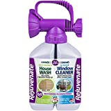 Rejuvenate Dual System Outdoor Window Cleaner & House Siding Cleaner with Hose-End Attachment