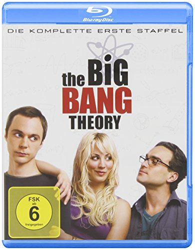 Cover The Big Bang Theory - Die komplette erste Staffel [Blu-ray]