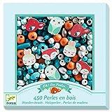 Djeco, 450 perles en bois