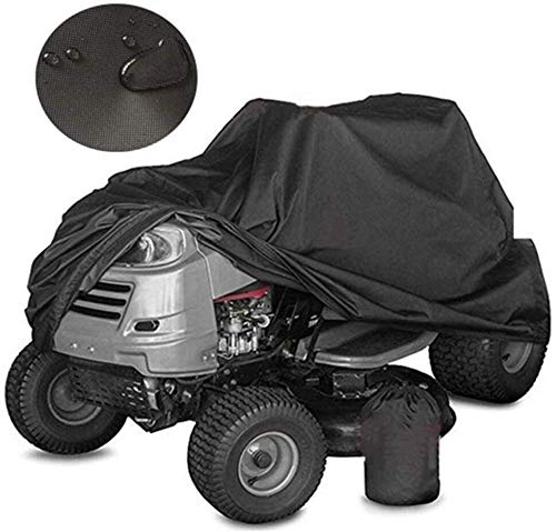 Riding Lawn Mower Cover Durable And Waterproof Protective Cover Heavy Duty Water Mower Cover Weatherproof Outdoor Storage (Size : L 182×111×116cm)