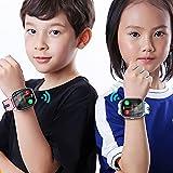 FVIWSJ Orologio Fitness Tracker Uomo Donna Smartwatch Bracciale da Polso Impermeabile,Orologio Intelligente Bambini per Android iOS,Blu