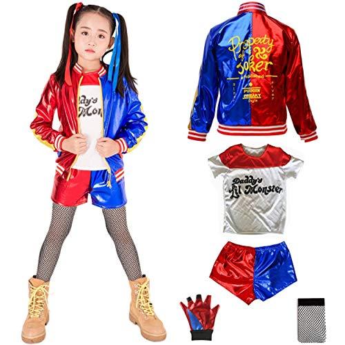 HOE-SPANDEX Harley Quinn Costume (M)