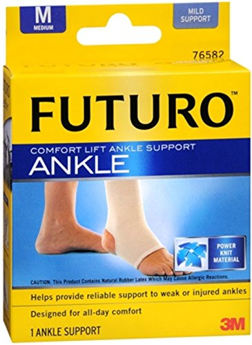 FUTURO Comfort Lift Ankle Support Medium 1 Each (Pack of 3)