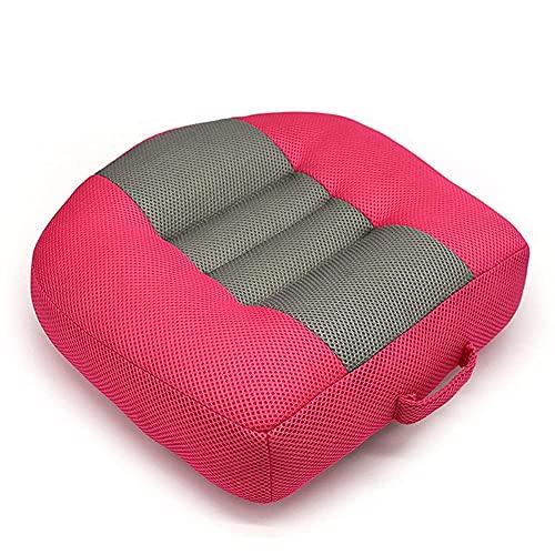 Cojín de asiento de elevación de automóviles portátil con altura de altura de altura incapacitada Aumento de la altura del automóvil Silla de la silla de la silla para las decoraciones del coche de lo