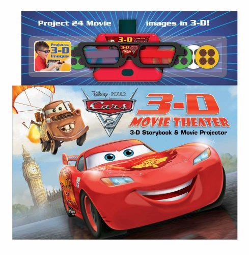 DisneyoPixar Cars 2 3-D Movie Theater: Storybook & Movie Projector