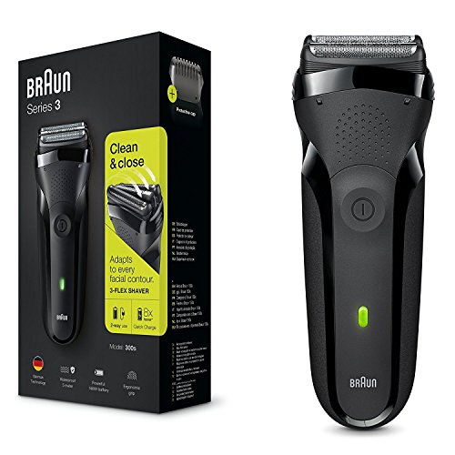 Braun Series 3 - Shave&Style Afeitadora Eléctrica, Negro