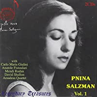 Legendary Treasures: Pnina Salzman 1