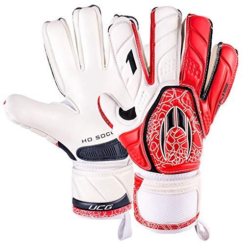 Ho Soccer One Negatieve keepershandschoen Intense Red, maat 5
