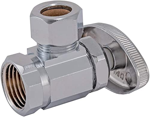 """lowest Eastman outlet online sale 04338LF Multi-Turn Angle Stop Valve FIP x 1/2 inch OD Comp, outlet sale 1/2"""" 1/2"""" sale"""