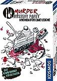 KOSMOS Murder Mystery Party - Kuchen für eine Leiche - Das Krimi-Dinner für zu Hause, Komplett-Set für für genau 6 - 8 Personen ab 16 Jahren, Partyspiel, spannendes Gesellschaftsspiel
