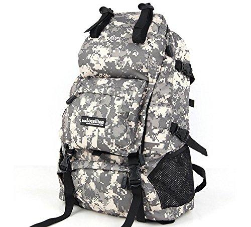 Sac à dos sac à dos sac à dos d'escalade de voyage escalade sacs voyages plein air hommes et femmes , white fan color