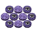 10 PCS Strip Disc Rust Removal Wheel Surface Conditioning Rust Paint Remove Clean Angle Grinder Disc Wheel Grinding Wheel 2 inch (10PCS)