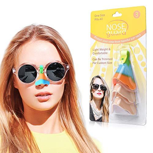 UV-Nasenschutz für Brille, Sonnenschutz, UV-Schutzfaktor 50+, 3 Stück
