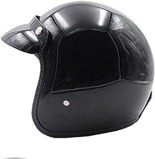 オープンフェイスヘルメットレザーオートバイヴィンテージハーフヘルメットバイクバイカークルーザーチョッパースクーターツーリングヘルメットジェットヘルメットパイロットモトヘルメット