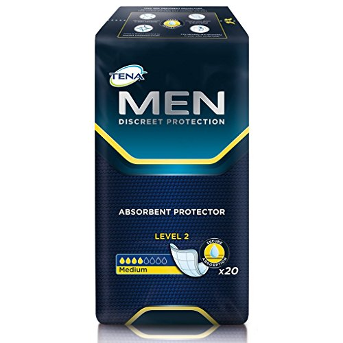 Tena Men Absorbent Protector - Level 2 (6 Packs of 20)