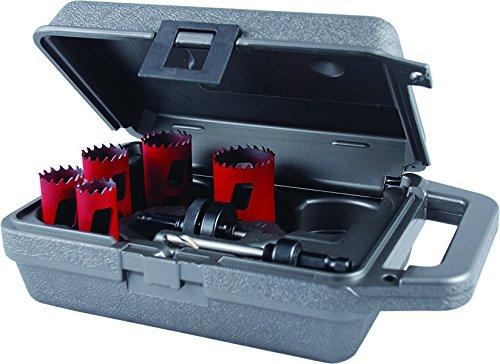 MK Morse mhs05m Bi-metal sierra perforadora eléctrica Kit de mecánico, 7piece,