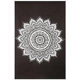 Gokul Handloom Wll Decor Black White Mandala Tapestry Indian Mandala Wall Tapestries Wall Art Bedspreads Home Décor