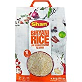 Shan - Extra Long Grain Aged Basmati Biryani Rice (10 Lbs), Premium Grade