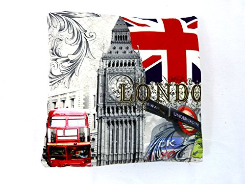 FDD4U LONDON SCENE ABSTRACT PRINTED CUSHION COVER...