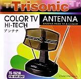 TRISONIC TS-1521 INDOOR DIGITAL TV HDTV UHF VHF ANTENNA POWERFULL by Trisonic