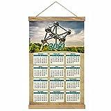 Belgien Brüssel Atomium Drucken Sie Poster Wandkalender