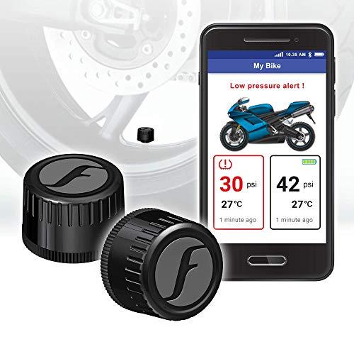 FOBO Bike 2 Tire Pressure Monitoring Systems (Black)