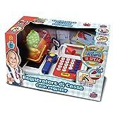 Grandi Giochi Grandi Giochi-61201 GG61201-Registratore di Cassa con Microfono e Luci Bambini 3 Anni +, GG61201