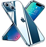 Red2Fire Clear Designed for iPhone 13 Case, [Anti-Yellowing] Slim Thin Transparent Anti-Scratch Shockproof Protective Crystal Clear Case 6.1 inch 2021