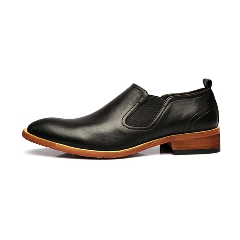 [MUMUWU] ビジネスシューズ 柔軟 革 靴 シューズ メンズ クラシック レザー ビジネスシューズ