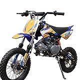 X-PRO 125cc Dirt Bike Pit Bike Gas Dirt Bikes Youth Kids...