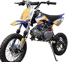 X-PRO 125cc Dirt Bike Pit Bike Gas Dirt Bikes Youth Kids Dirt Bikes 125cc Gas Dirt Pit Bike ?Blue