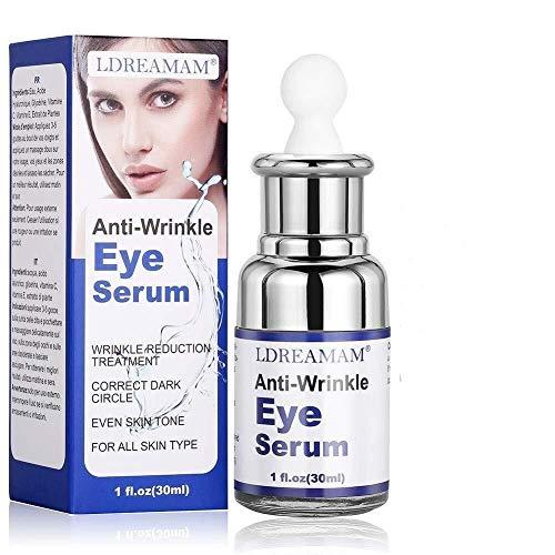 suero para el contorno de ojos, antiedad y antibolsas; también sirve como suero...