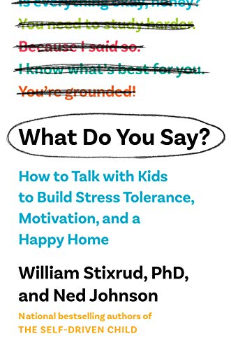 What Do You Say?: How to Talk with Kids to Build Motivation, Stress Tolerance, and a Happy Home