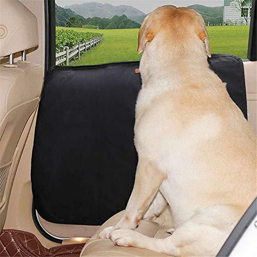 Doglemi - Protector de Puerta de Coche para Perro Oxford, Impermeable, Antideslizante, antiarañazos, para Mascotas, Suministros de Coche