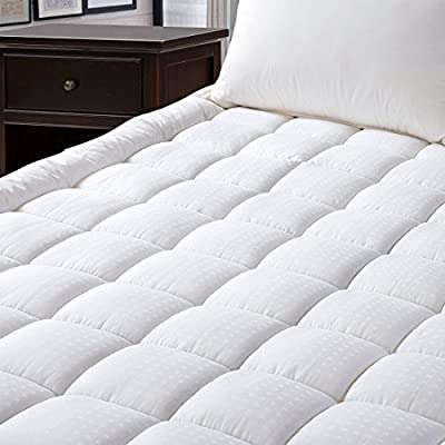 Freelife Luxury mattress Collection 100% Cotton 300 Thread Mattress Pad Cover Down Hotel Use Alternative Pillowtop Mattress Topper