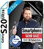 Smart Engineered - Carcasa para Samsung Galaxy S20 Ultra, color transparente mate