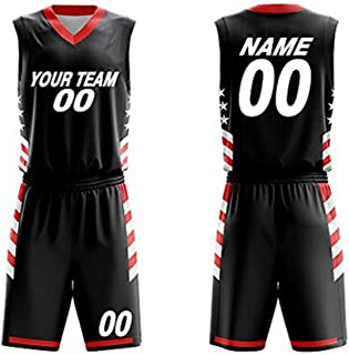 Customizable Basketball Uniform V Collar Jersey and Shorts Trainning Sport Set