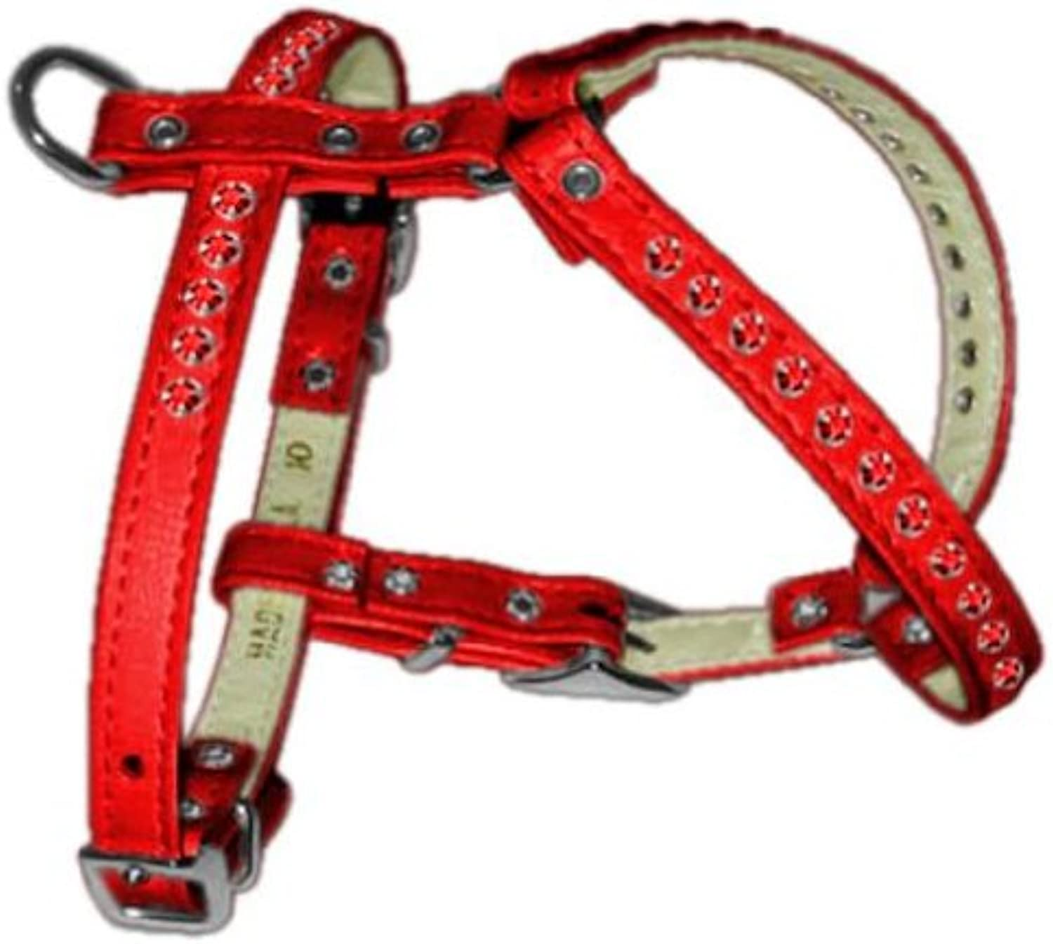Dog   Cat   Pet Charms Comfort Harness Red 14