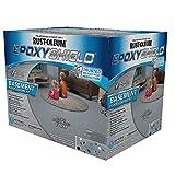Rust-Oleum 203007 EPOXYSHIELD Basement Floor Coating, 120 Fl Oz, Gray